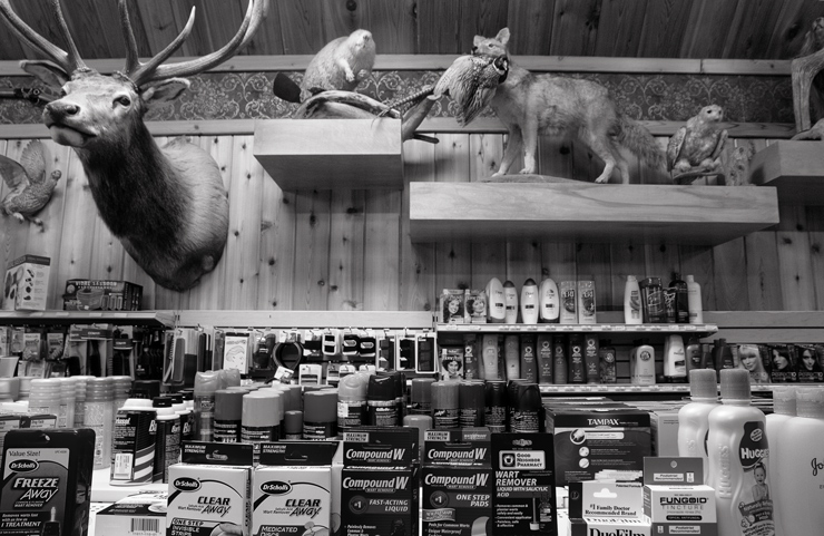 Wall Drug Store Interior, Wall, S.D.