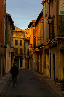 Morning in St. Remy-de-Provence, France